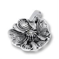 Висулки от сребро с камък - 182861