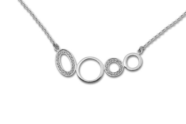 Колие от сребро 700181