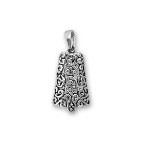 Висулки от сребро без камък - 181033