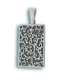 Висулки от сребро без камък - 180728