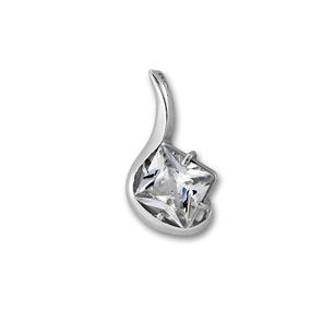 Висулки от сребро с камък - 182510