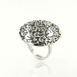 Сребърен пръстен без камък 1536133