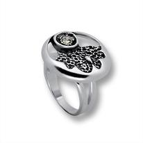Пръстени с камък от сребро - 1595860