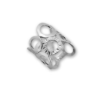 Сребърни пръстени без камък - 1545281