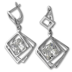 Oбици с камъни от сребро - 130917
