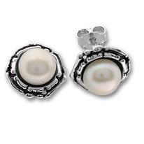 Обеци с перли 115904