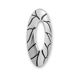 Висулки от сребро без камък - 180007
