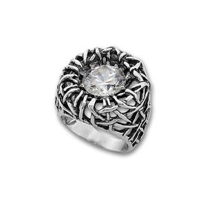 Пръстени с камък от сребро - 1585928