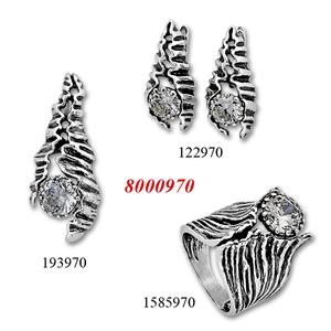 Сребърни бижута - комплект 8000970