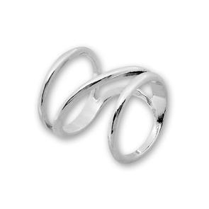 Сребърен пръстен без камък 1535270