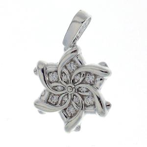 Висулки от сребро с камък - 173106