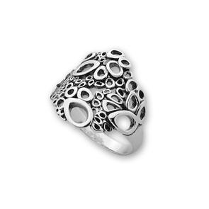 Сребърен пръстен без камък 1546021
