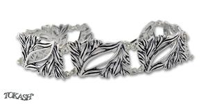 Сребърна гривна 200905