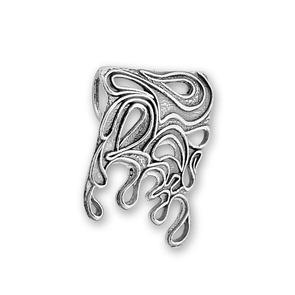 Висулки от сребро без камък - 180617