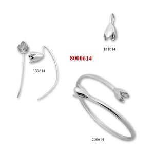 Сребърни бижута - комплект 8000614
