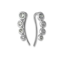 Oбици с камъни от сребро - 139274