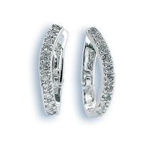 Oбици с камъни от сребро - 137178