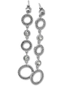 Oбеци с камъни от сребро 140174