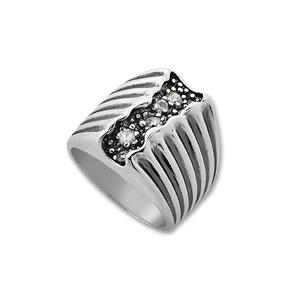 Пръстени с камък от сребро - 1586001