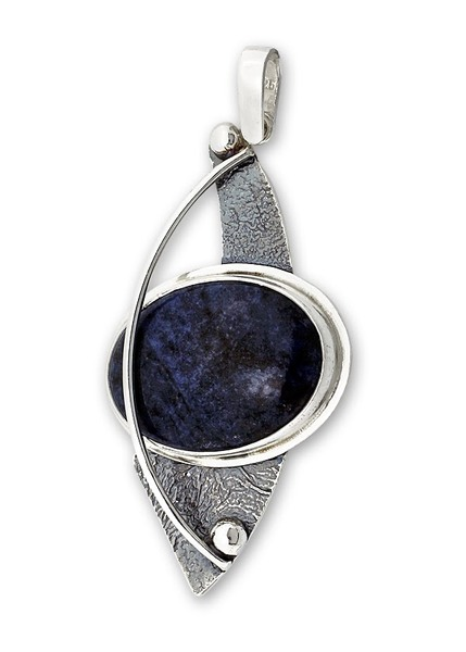 Висулки  уникати от сребро и полускъпоценни камъни 8983199