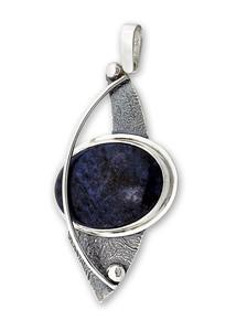 Сребърни модели уникати с естествени камъни - Висулки уникати от сребро и полускъпоценни камъни - 8983199