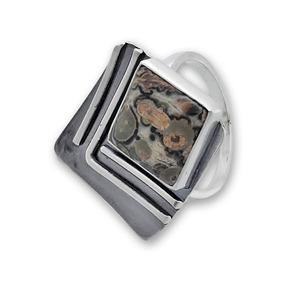 Пръстени  уникати от сребро и полускъпоценни камъни 8985238
