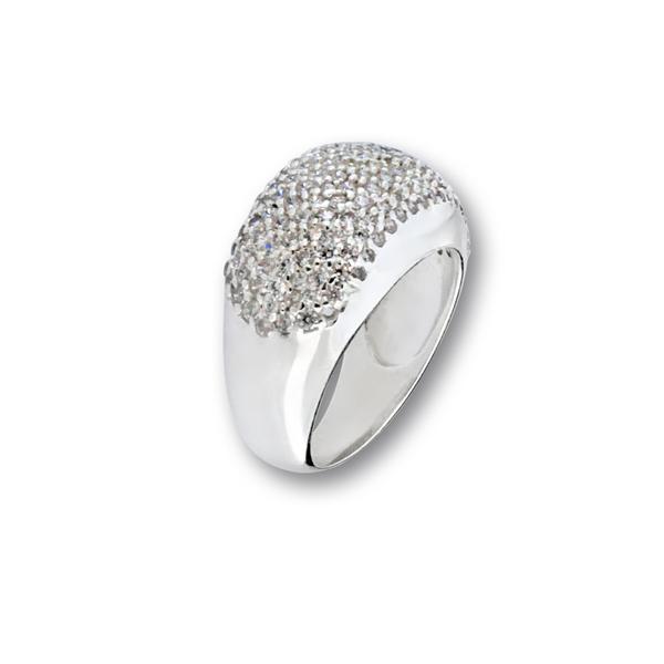 Пръстен с камък от сребро 1616185