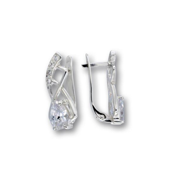 Oбеци с камъни от сребро 138330