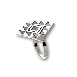 Сребърен пръстен без камък 1546228
