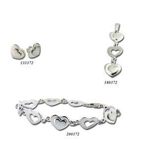 Сребърни бижута - комплект 8000372