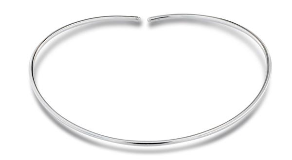 Колие от сребро 701012