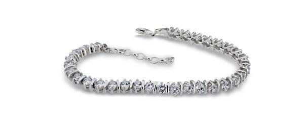Сребърна гривна 201233