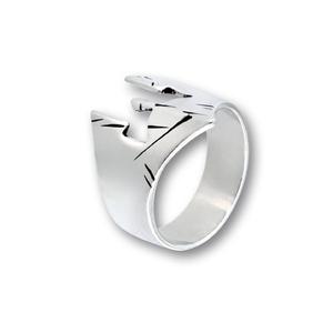 Сребърни пръстени без камък - 1536182