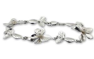 Гривни уникати от сребро и полускъпоценни камъни 8982113