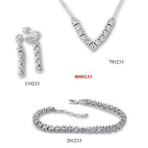 Сребърни бижута - комплект 8000233