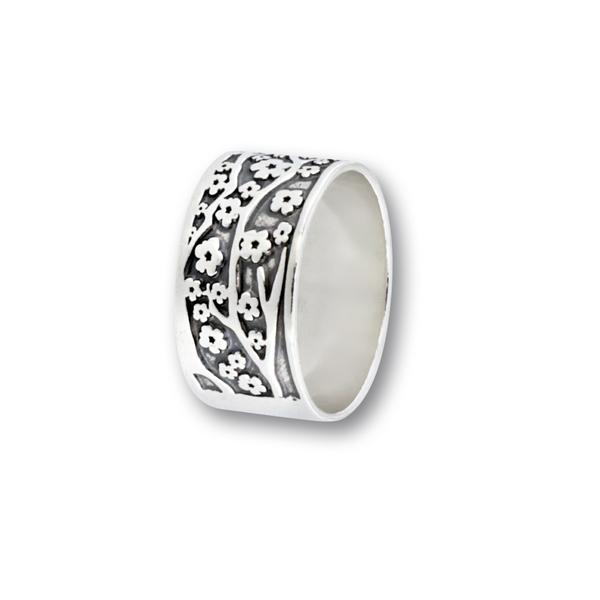 Сребърен пръстен без камък 1666183