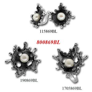 Сребърни бижута - комплект 8000869