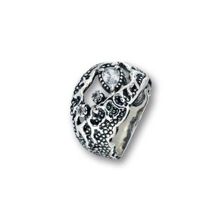 Пръстен с камък от сребро 1596189