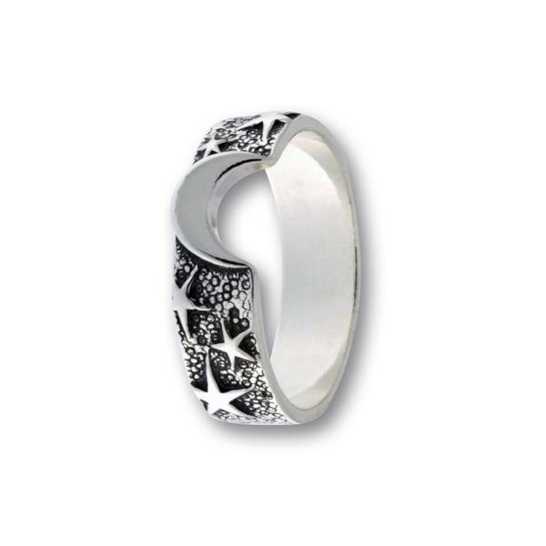 Сребърен пръстен без камък 1666171