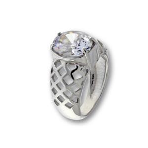 Пръстен с камък от сребро 1586180