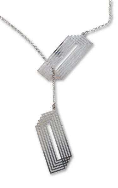 Колие от сребро 607035