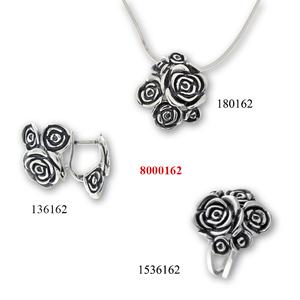 Сребърни бижута - комплекти - 8000162