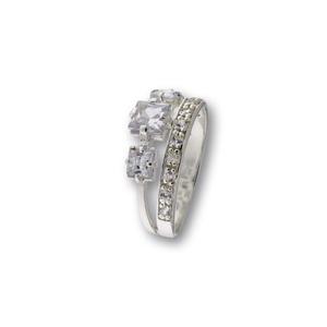 Пръстени с камък от сребро - 1696179