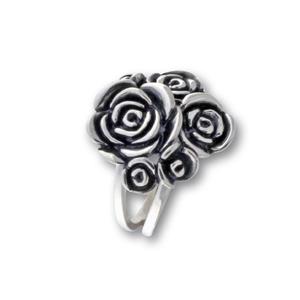 Сребърни пръстени без камък - 1536162