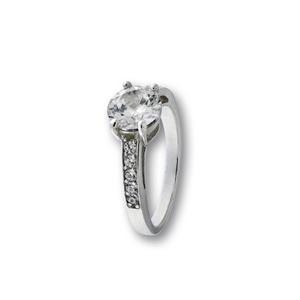 Пръстен с камък от сребро 1626178