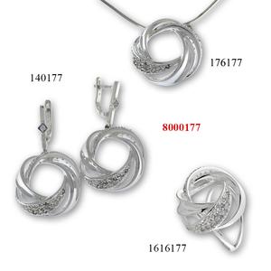 Нови модели на бижута от сребро - 8000177
