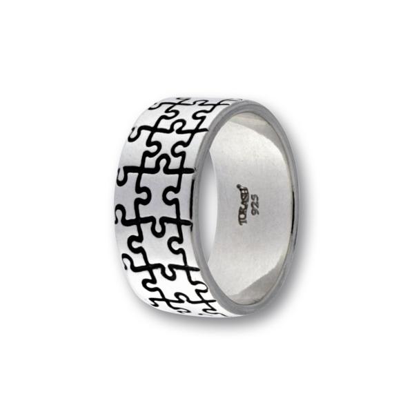 Сребърен пръстен без камък 1516161