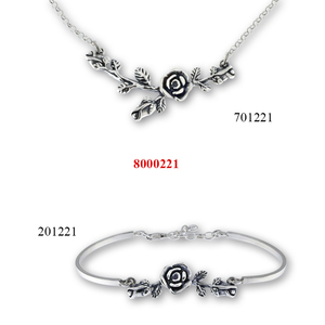 Сребърни бижута - комплекти - 8000221